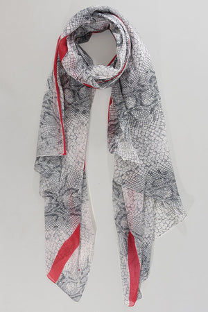 Snake Print Scarf NOW HALF PRICE