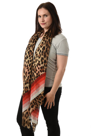 Animal Print Scarf NOW HALF PRICE