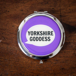 Yorkshire Goddess Compact Mirror