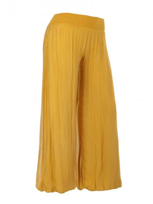 Silk Wide Leg Pants NOW 50% REDUCED