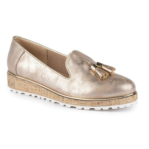 Lunar Nemesis Rose  Gold Loafer