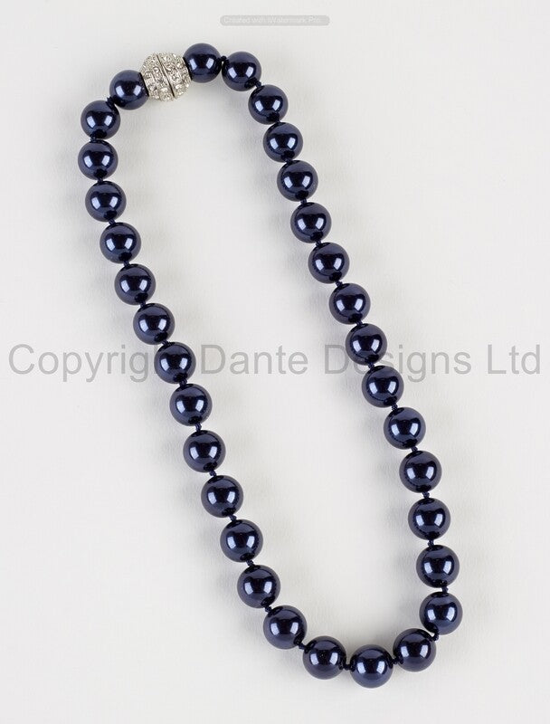 Blue Pearls Magnetic Clasp NOW HALF PRICE