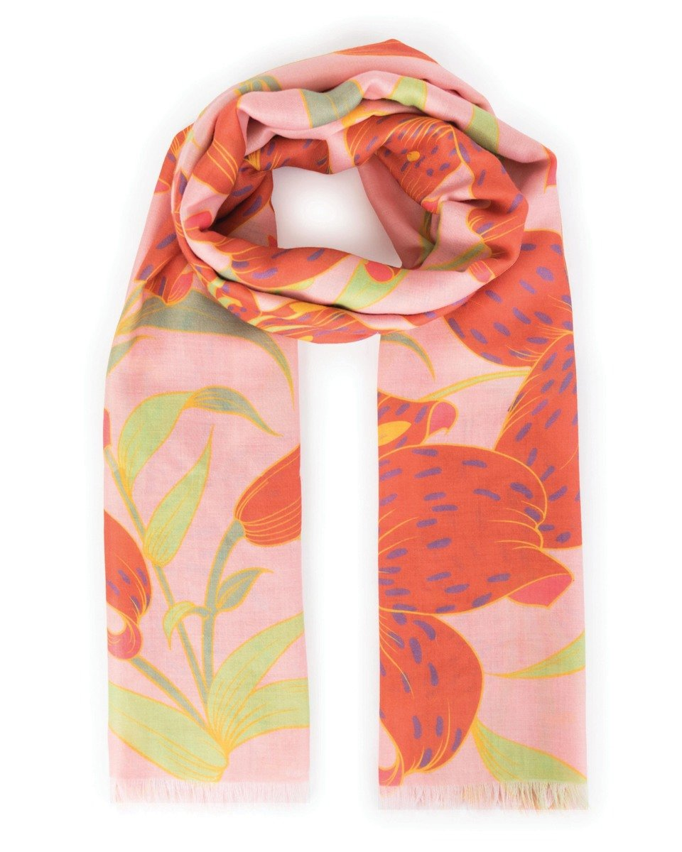 Powder Lily Scarf