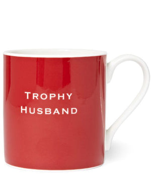 "Susan O'Hanlon Mug "" Trophy Husband"""