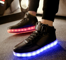 Load image into Gallery viewer, Glowing Sneakers - Hook Loop