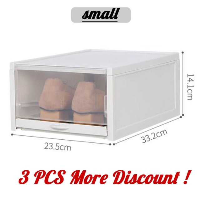 Push and pull Boxes 3PCS