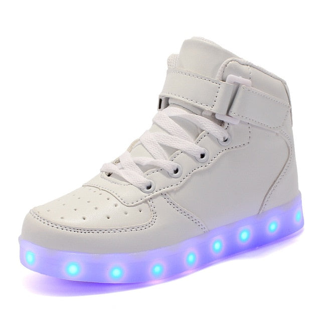 Glowing Sneakers - Light Up