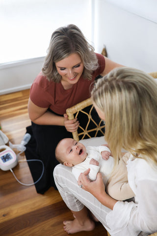 Kate from Milky Business Lactation consultant Australia