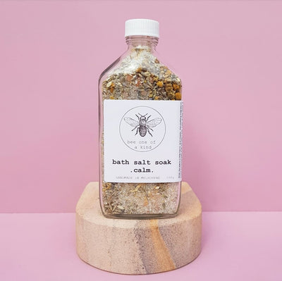 Bee one a kind bath salt soak in calm for pregnancy and postpartum