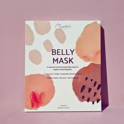 Madre Australia pregnancy belly sheet mask