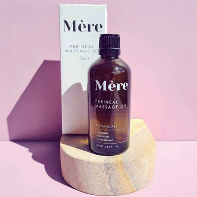 Perineal massage oil by Mere Botanicals