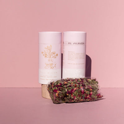 The Maternity Market pregnancy products full bloom raspberry leaf tea from Ibu Ayurveda