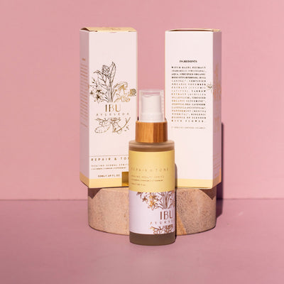 The Maternity Market postnatal products repair and tone perineal healing spray