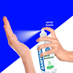 Sanitron Hand Sanitizer - Spray Bottle - 500 ml  (Pack of 2 - 500ml *2)