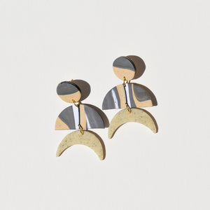 Maggie Earrings; Clean and Classy