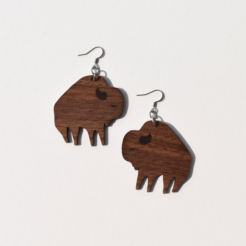 Mia Ohki Mini Buffalo Earrings