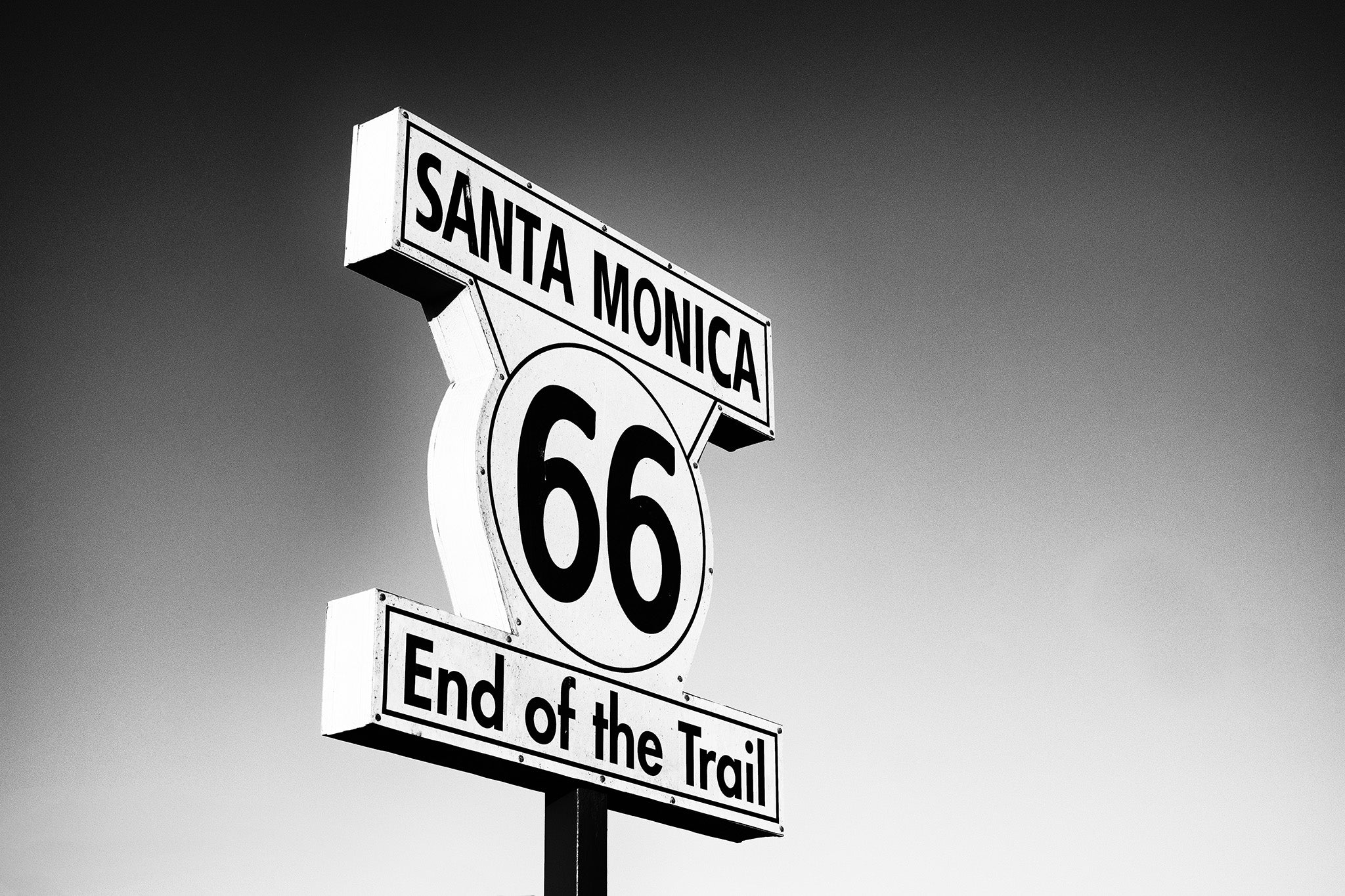 Santa Monica Route 66 Women's T Shirt