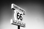 Santa Monica Route 66 Kids T Shirt