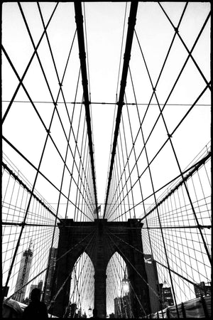 Gotham NYC Brooklyn Bridge T Shirt