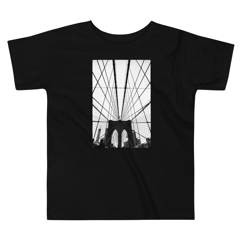 Gotham NYC Brooklyn Bridge Toddler T Shirt