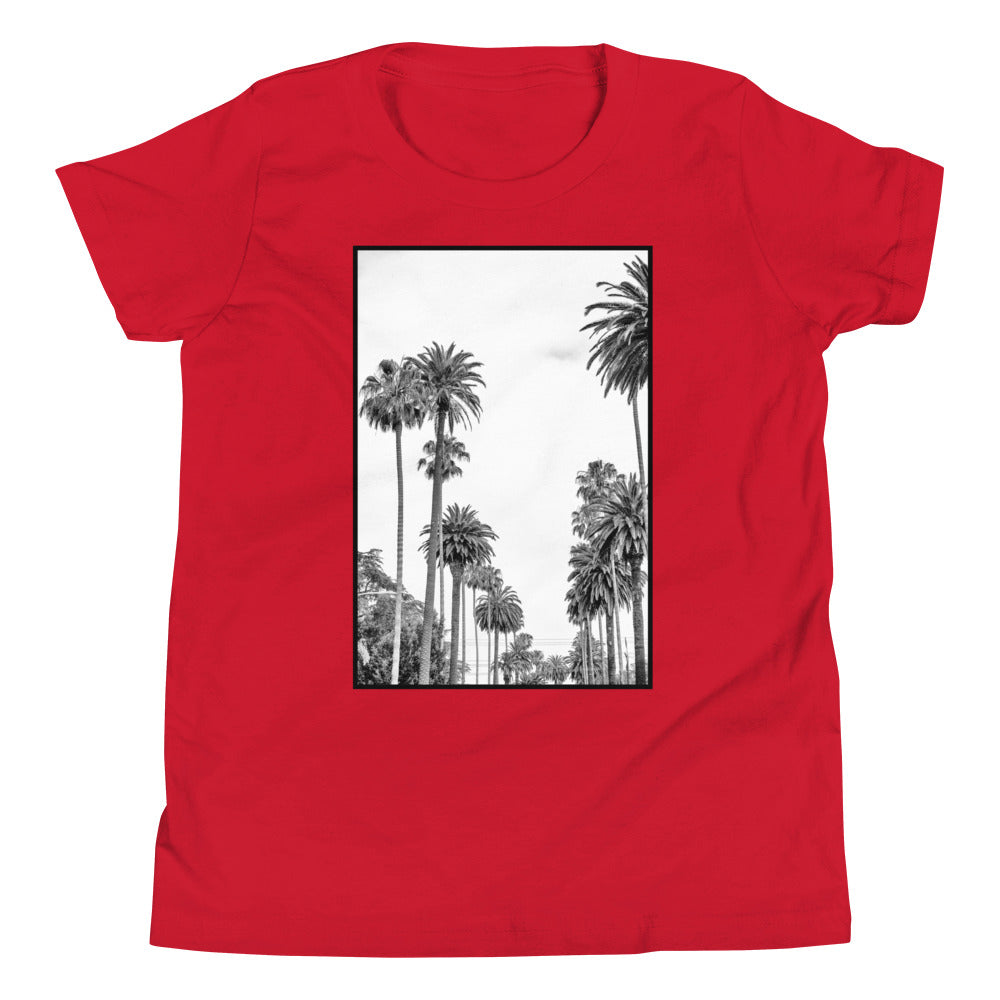 L.A. Beach Vibes Kids Palm Trees T Shirt