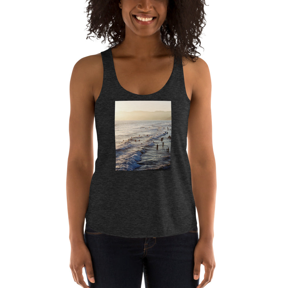 Santa Monica Beach Vibes Women's Tank Top
