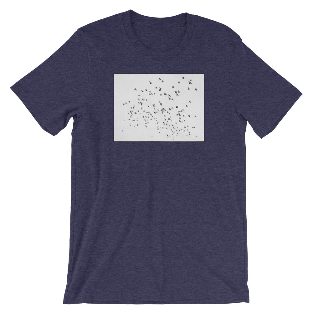 NYC Pigeon Flock Men's T Shirt