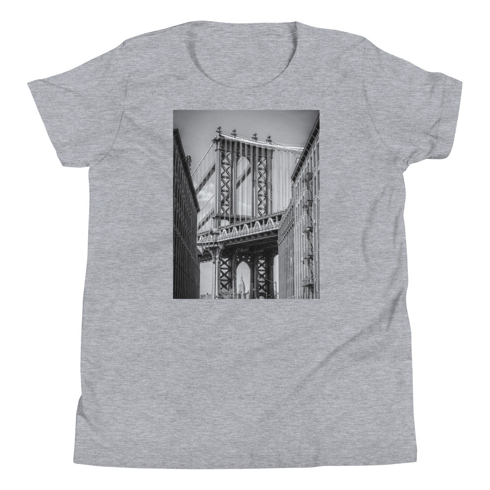 NYC Manhattan Bridge Kids T Shirt