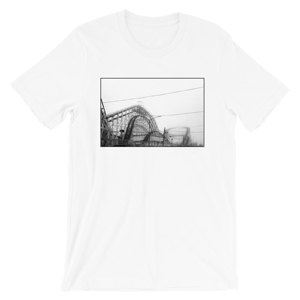 Coney Island Roller Coaster Men's T Shirt
