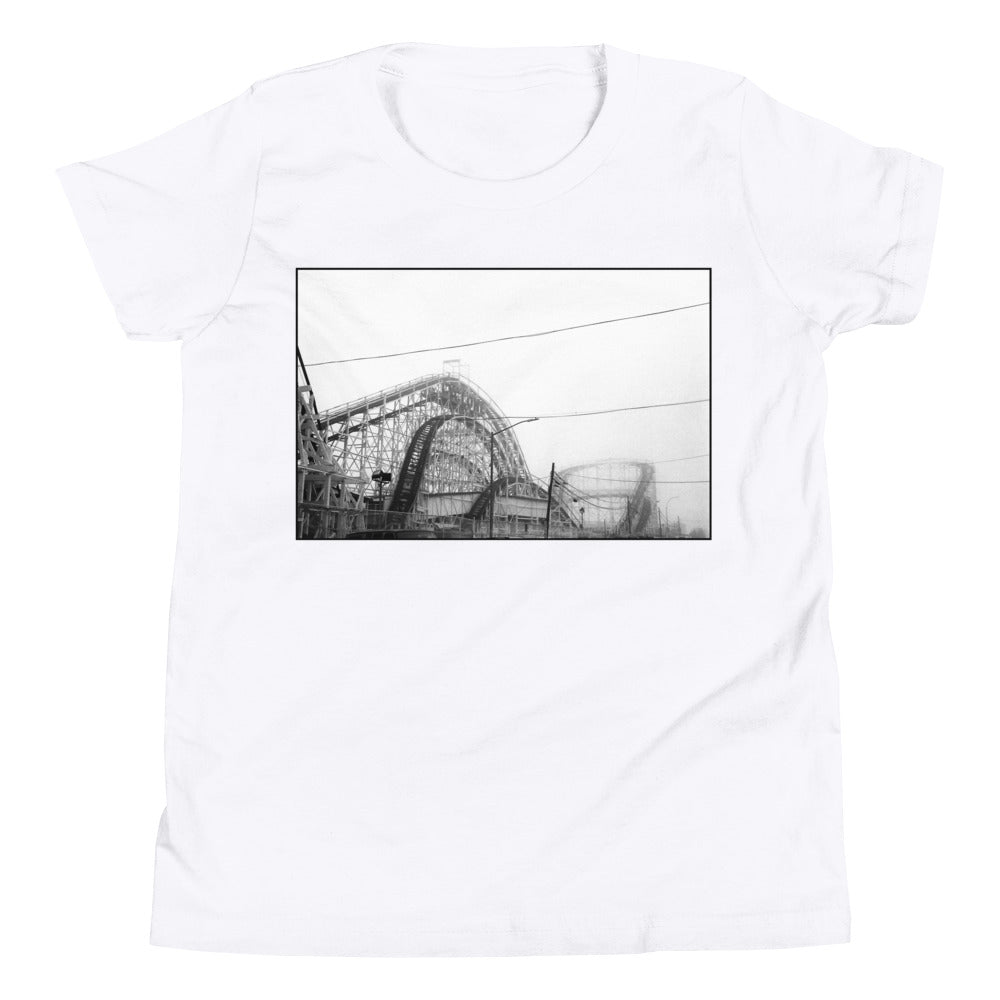 Coney Island Rollercoaster Kids T Shirt