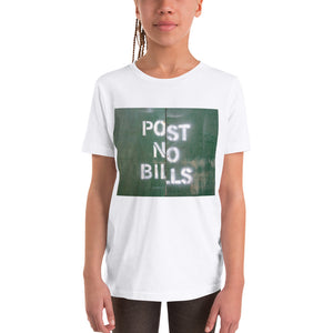 NYC Post No Bills Kids T Shirt