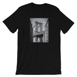 NYC Manhattan Bridge Men's T Shirt