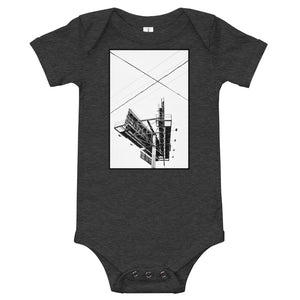 West Hollywood Billboard Baby Onesie