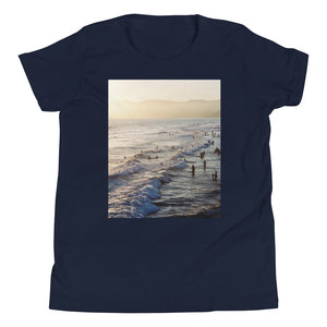 Santa Monica Beach Vibes Kids T Shirt