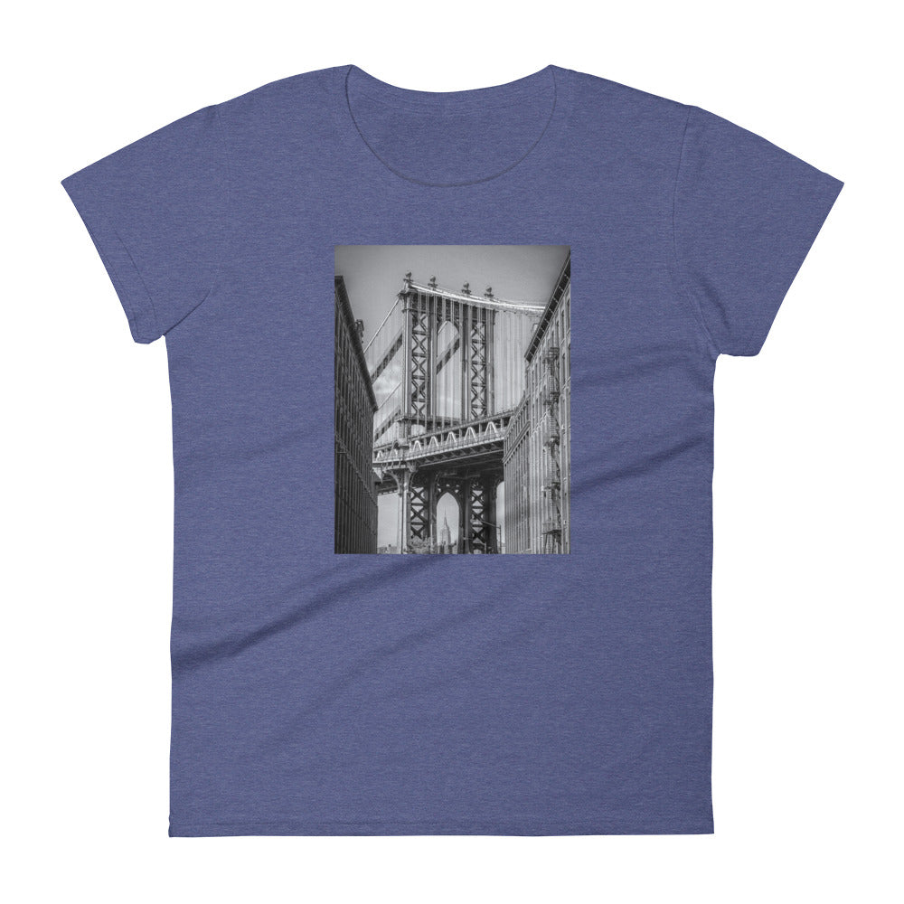 NYC Manhattan Bridge Women's T shirt