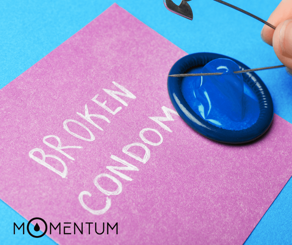When The Condom Breaks by Dr. Drai | Momentum Intimacy