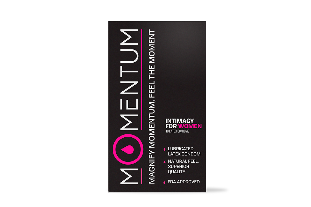 Box of 10 Momentum Condoms For HER