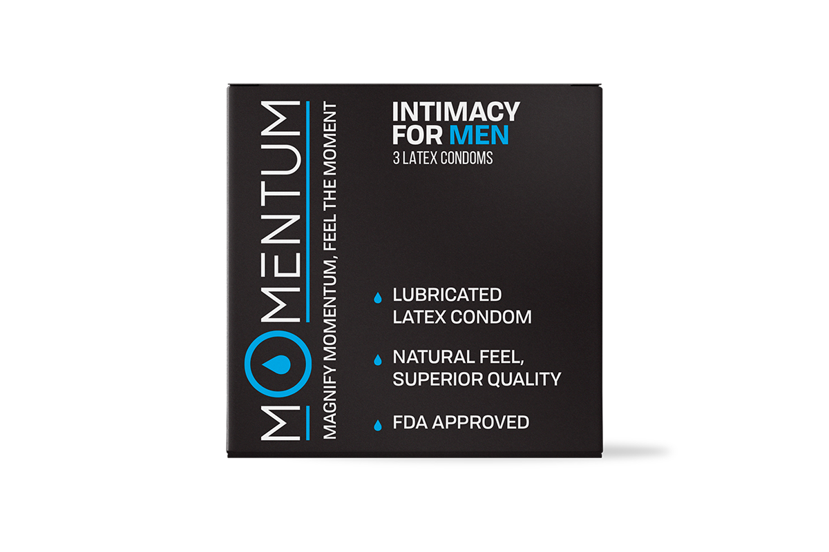 Momentum Condoms for HIM- Momentum Intimacy by Dr. Drai FeelTheMoment.com