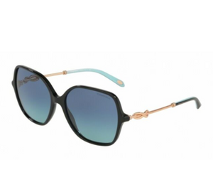 Tiffany Black Square Sunglasses