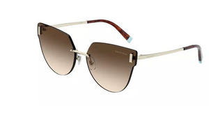 Tiffany Pale Gold Cat Eye Sunglasses