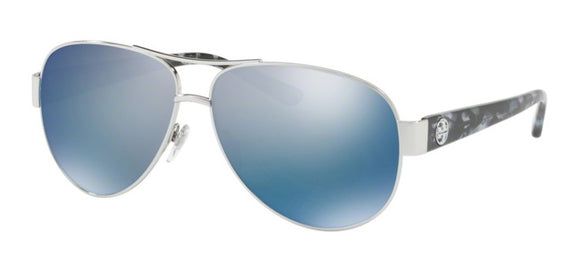 TB 6057: Aviator w/ Silver Blue Flash