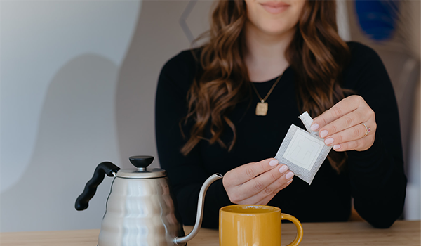opening pour over pouch