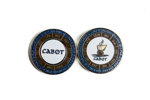 Cabot Links Duo Yardage Marker