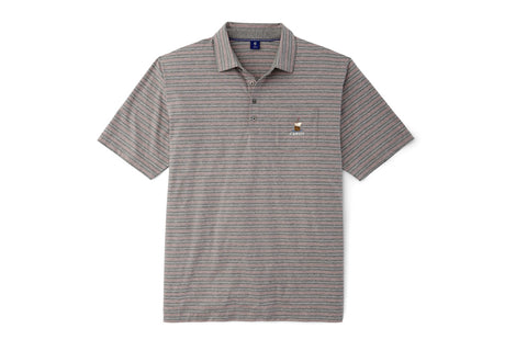 FJ 1857 Cabot Links Supima Lisle Vintage Stripe Polo