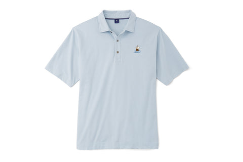 FJ 1857 Cabot Links Pima Lisle Feeder Stripe Polo