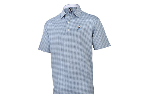 FJ Cabot Links Lisle +Print Polo
