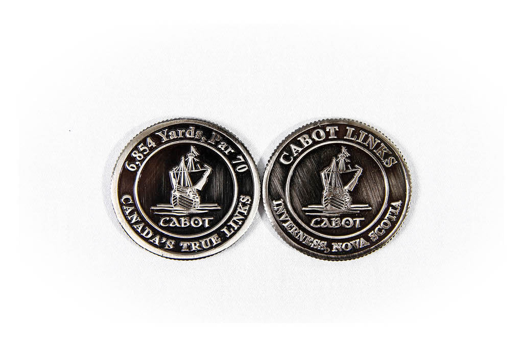 PAC Cabot Links Commemorative Coin