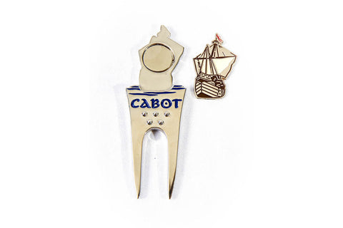 PAC Cabot Links Divot Tool with Ball Marker