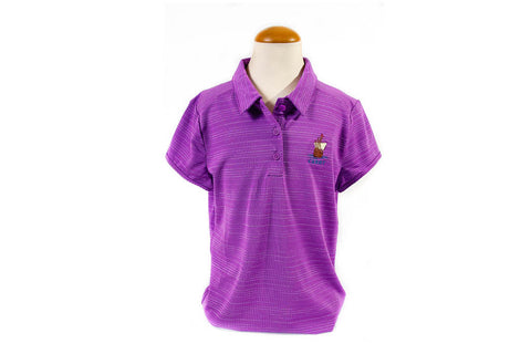 Adidas Girls Cabot Links Microdot Novelty Polo