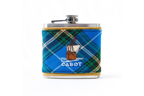 Seamus Golf Cabot Links Tartan Flasks